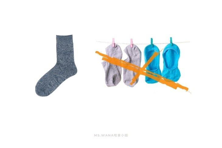 烘焙丙級檢定需穿襪子,長度超過腳踝
