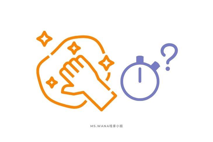 清潔算入測驗時間嗎?